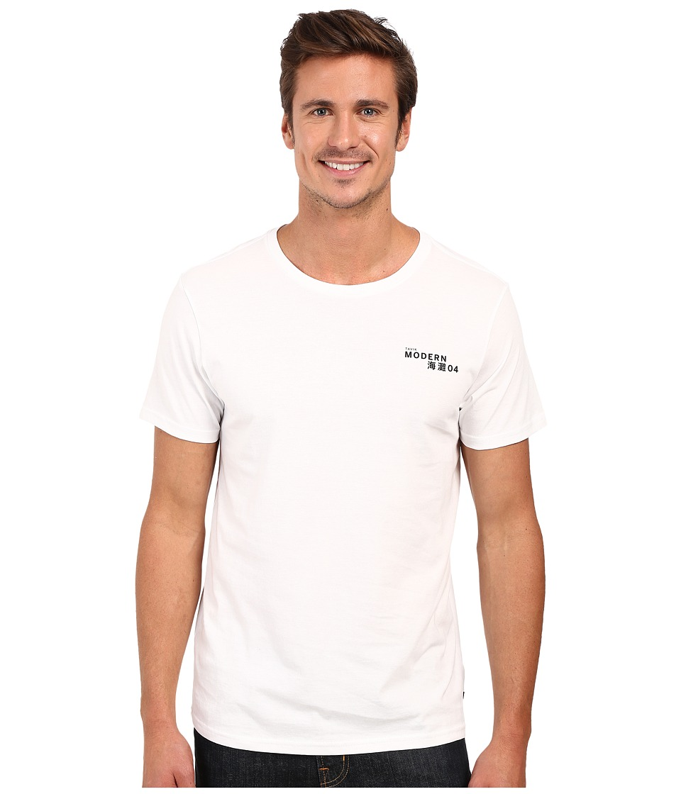 Tavik - Meros Short Sleeve Printed Tee (White) Men's T Shirt