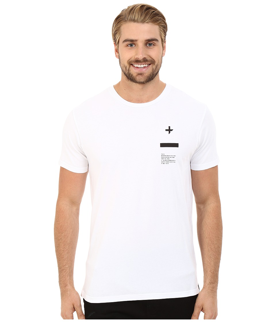 Tavik - Tract Printed Tee (White) Men's T Shirt