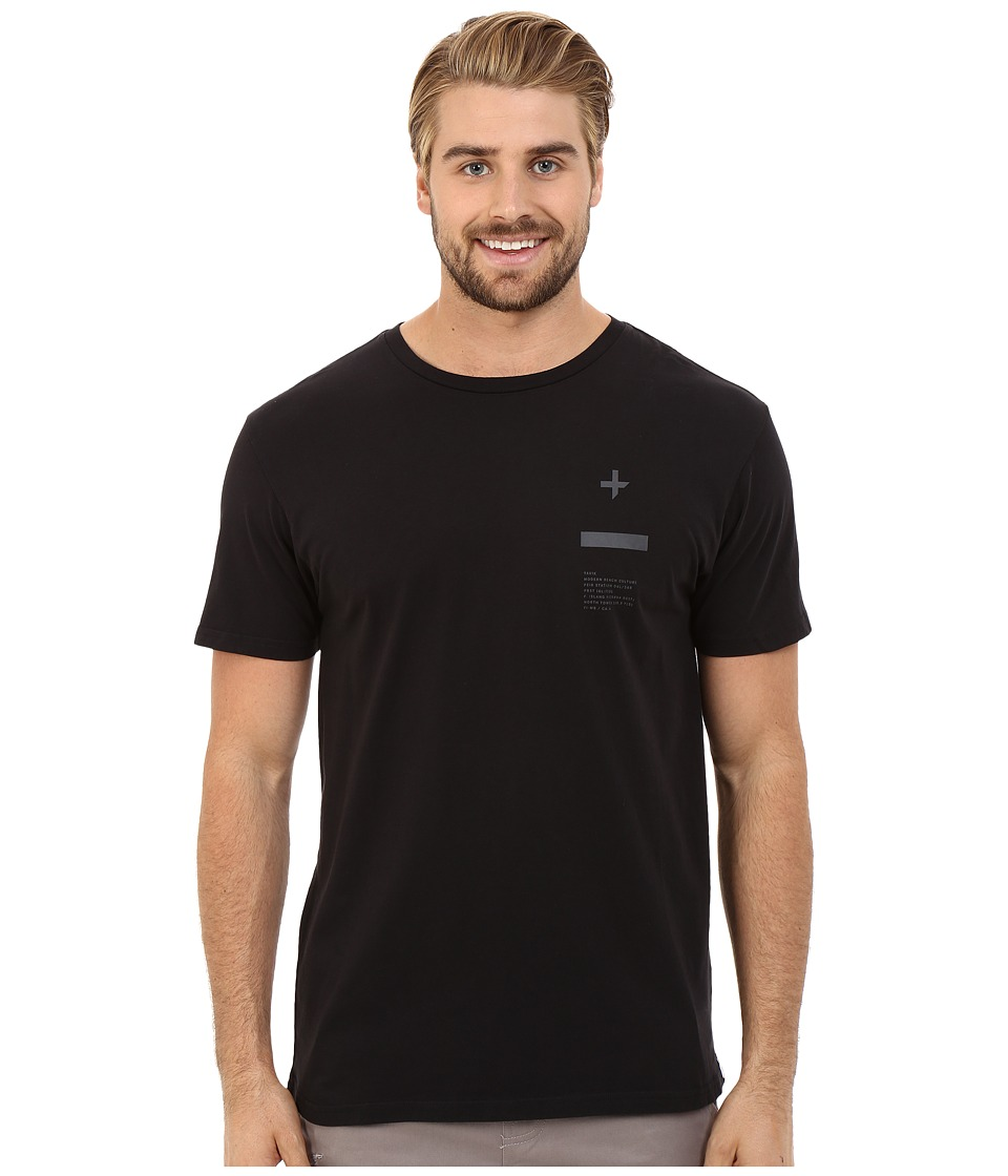 Tavik - Tract Printed Tee (Black) Men's T Shirt