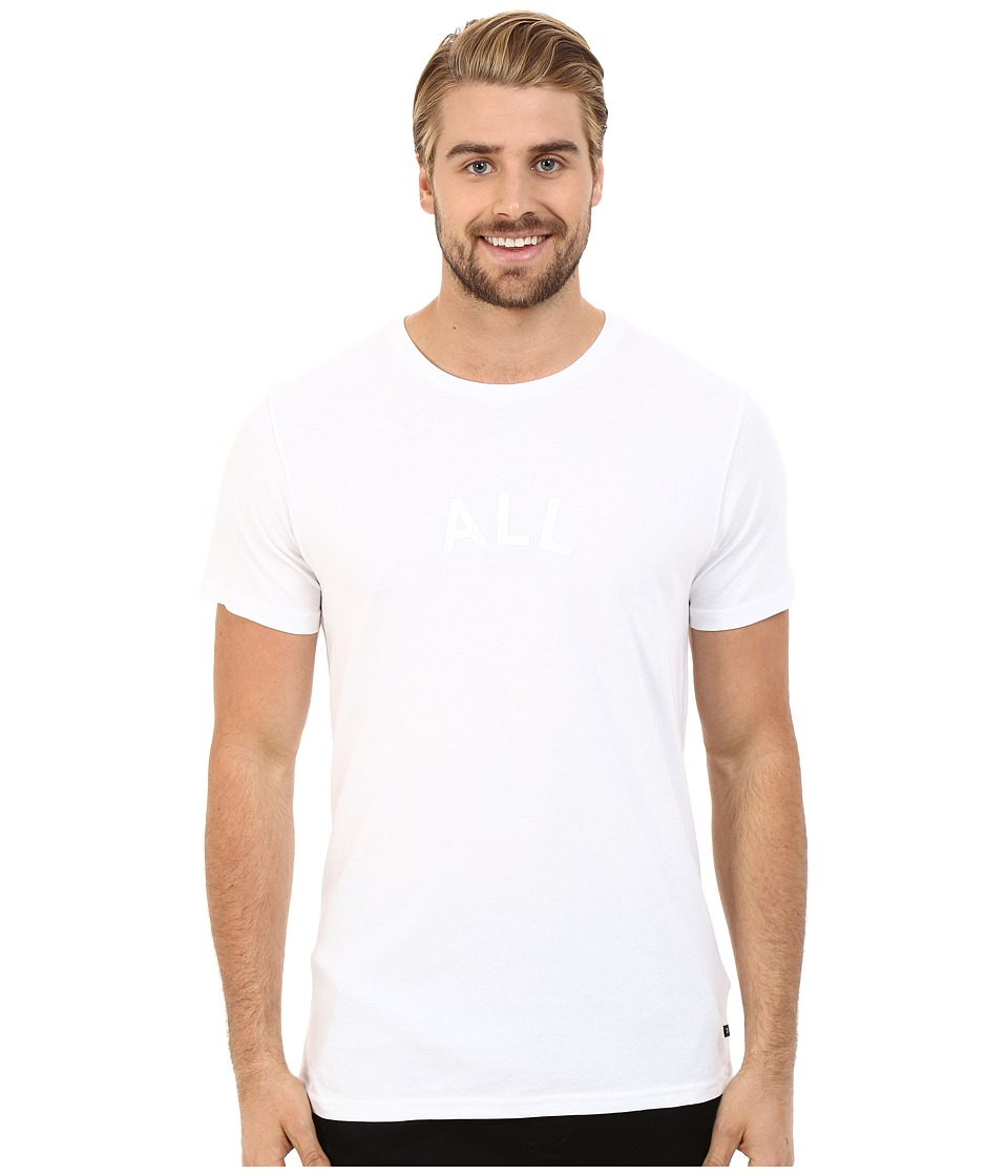Tavik - Or Short Sleeve Printed Tee (White) Men's T Shirt