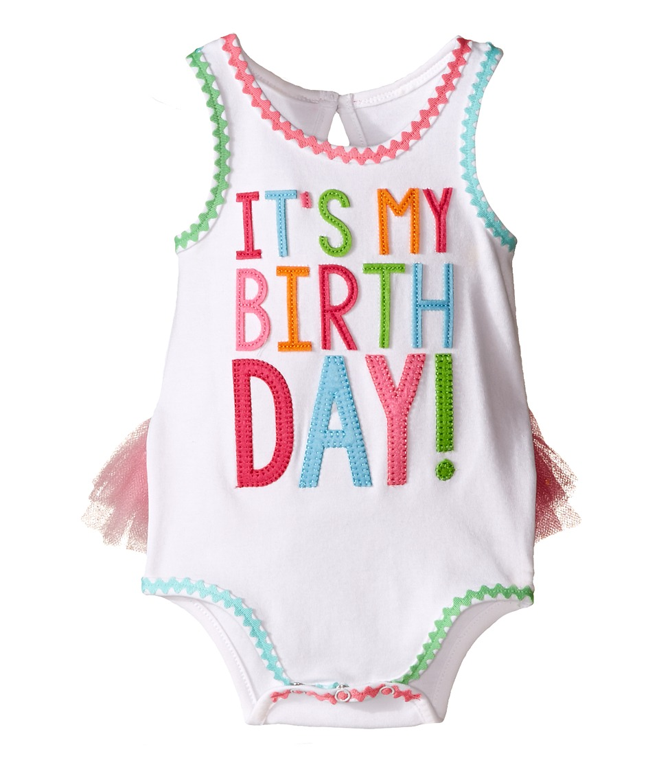 Mud Pie - Birthday Crawler (Infant) (Pink) Girl's Jumpsuit & Rompers One Piece