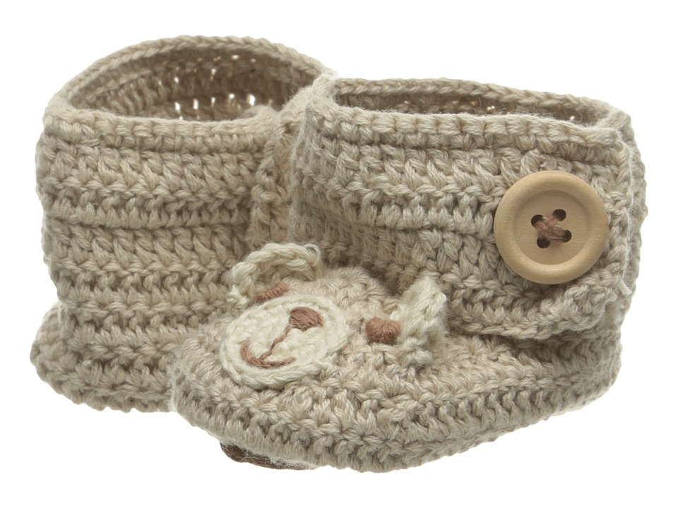 Baby Deer - Crochet Bear (Infant) (Tan/Brown) Boy's Shoes