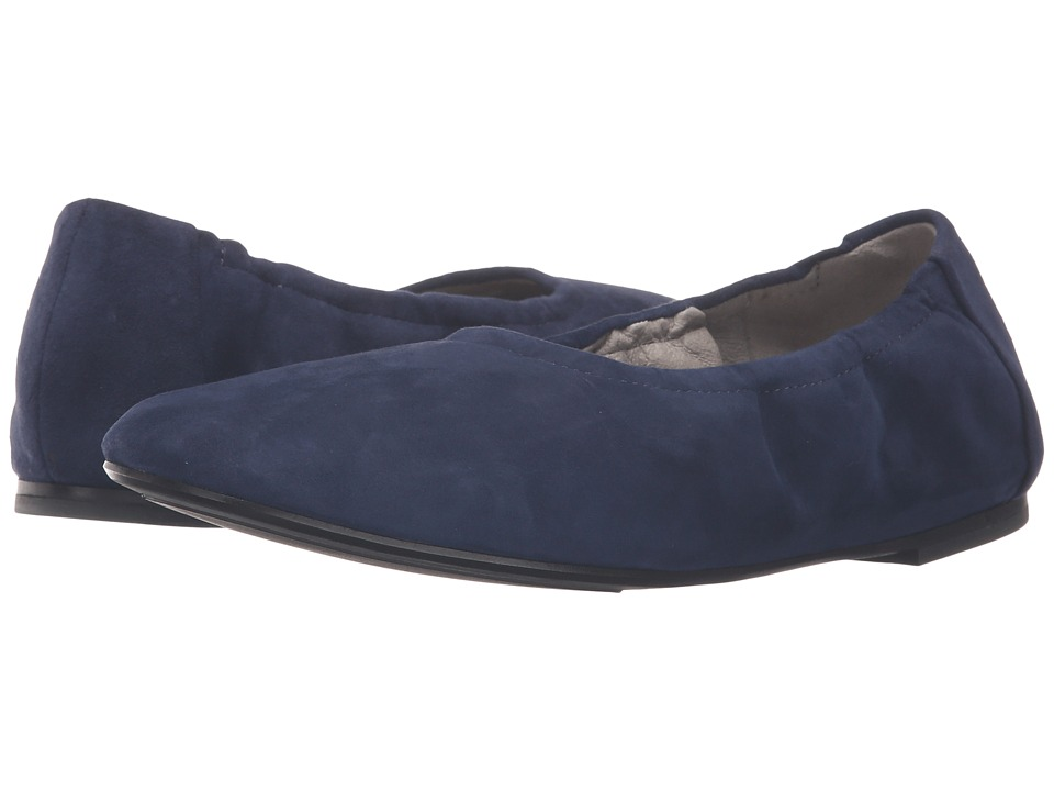 Eileen Fisher - Pond (Dark Night Suede) Women's Slip on Shoes