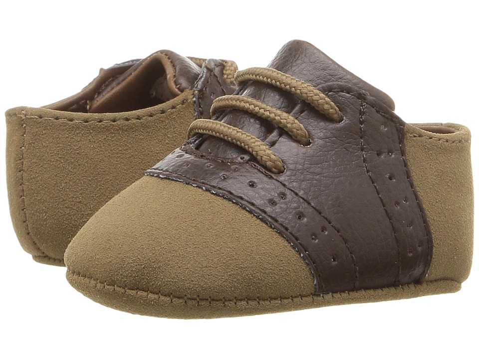Baby Deer - Lace-Up Oxford (Infant) (Tan/Brown) Boys Shoes