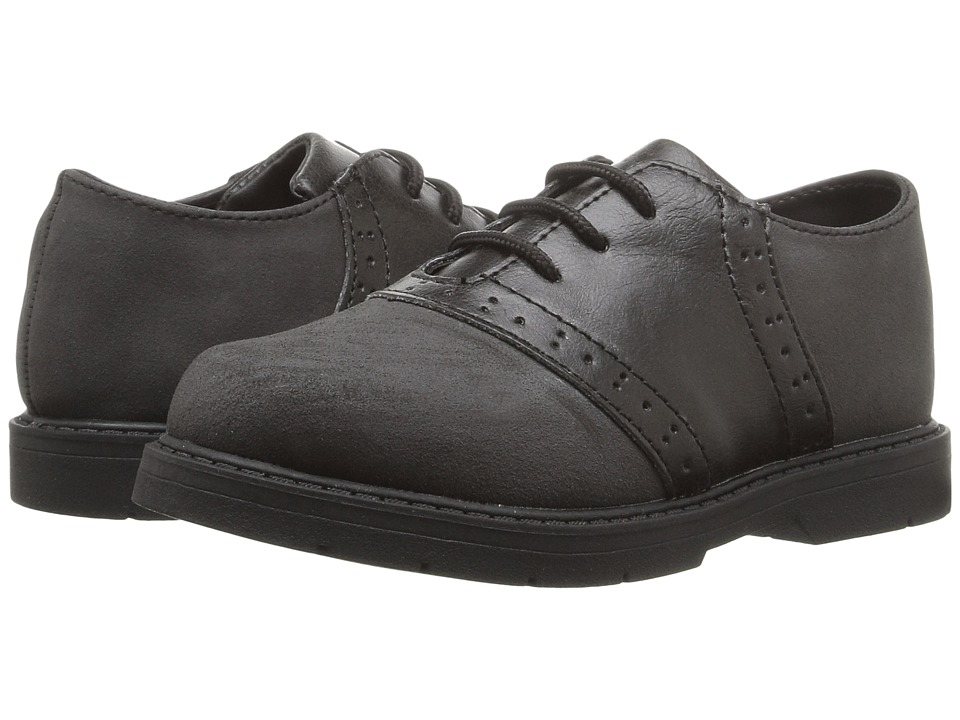 Baby Deer - Lace-Up Oxford (Infant/Toddler) (Black) Boys Shoes