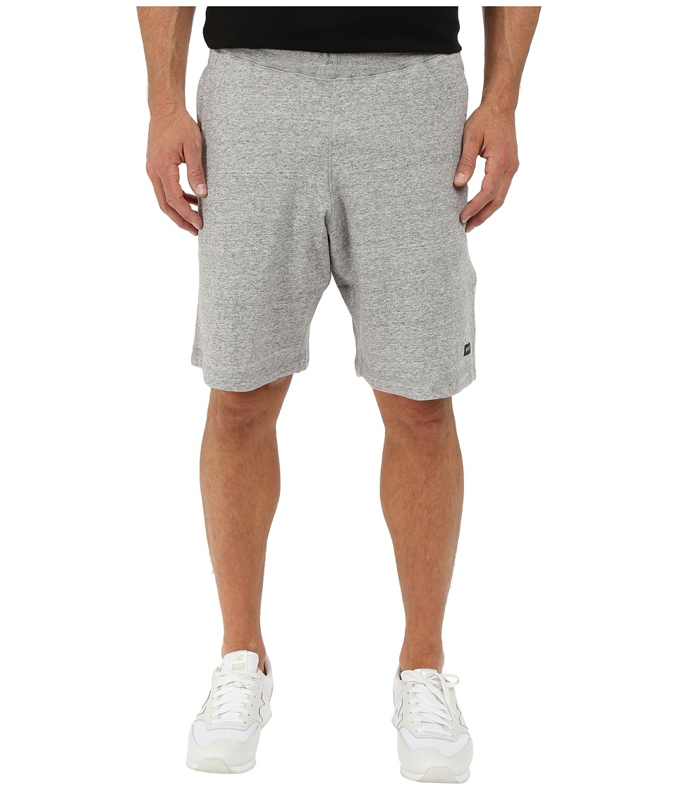 HUF - Cadet Fleece Shorts (Grey Heather) Men