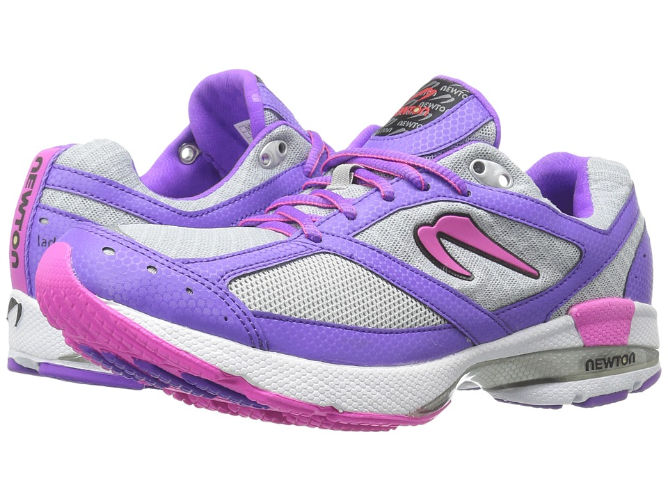 Newton Running - Isaac S (Silver/Purple) Women's Running Shoes