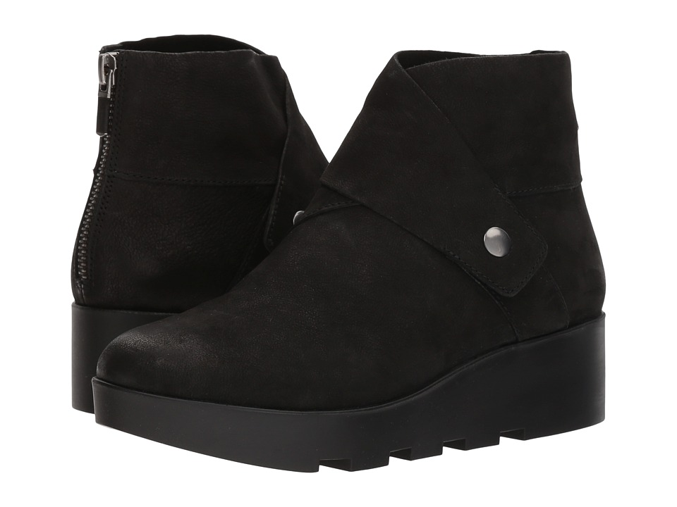 Eileen Fisher - Tread (Black Tumbled Nubuck) Women's Boots
