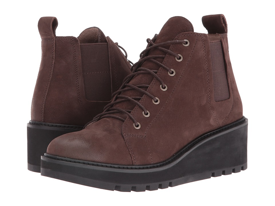 Eileen Fisher Club (Chocolate Tumbled Nubuck) Women