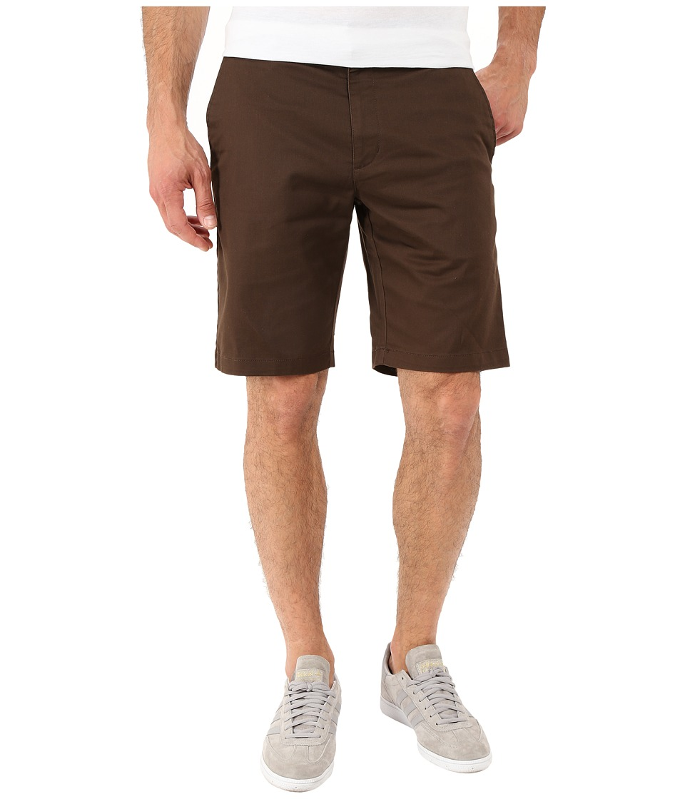RVCA - The Week-End Stretch Shorts (Chocolate 1) Men's Shorts