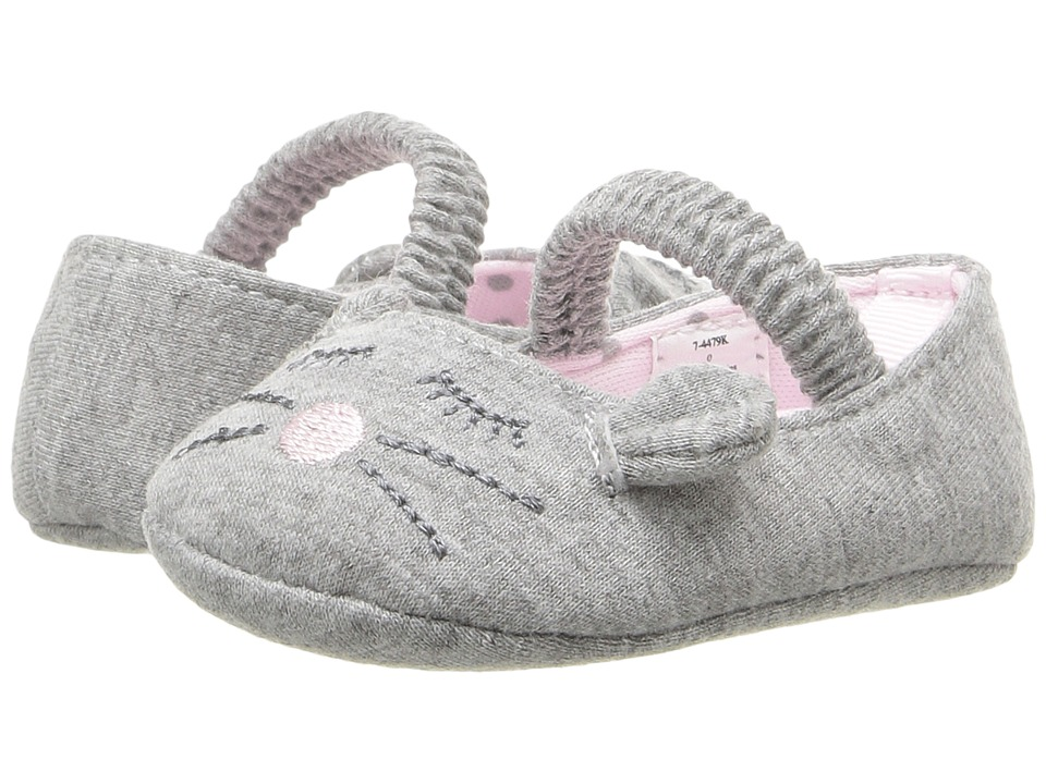 Baby Deer - Mouse Skimmer (Infant) (Grey) Girl's Shoes
