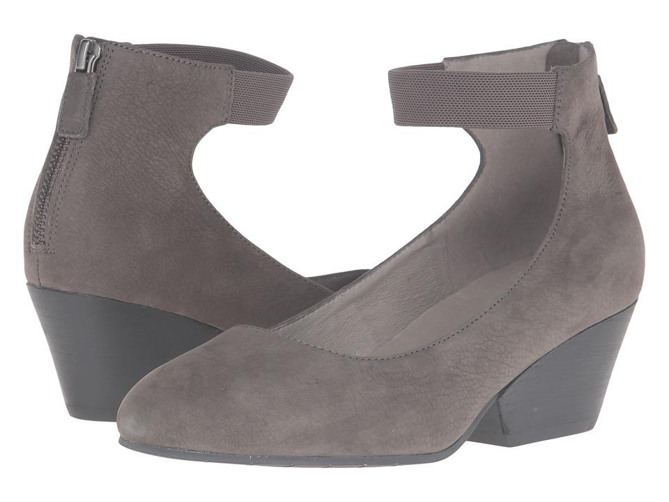 Eileen Fisher - Liza (Graphite Nubuck) Women's 1-2 inch heel Shoes