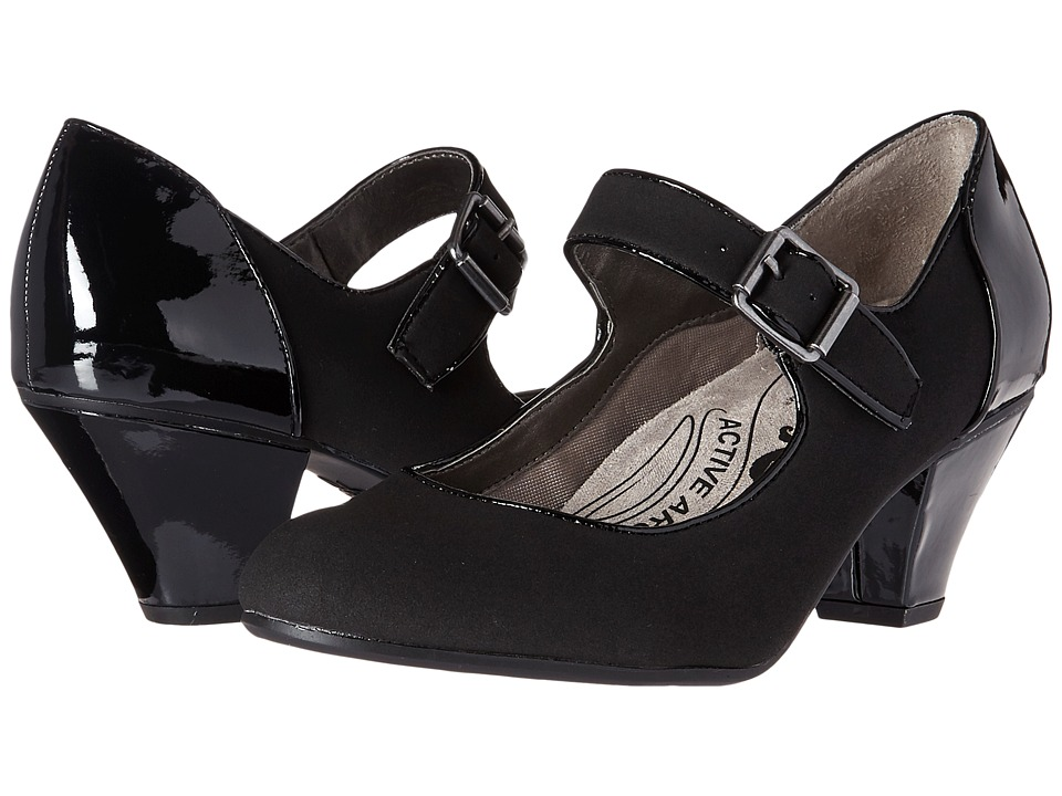 LifeStride - Glamour (Black) Women's Shoes