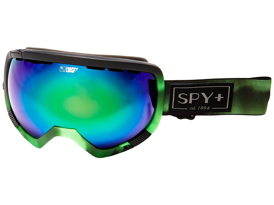 Spy Optic - Platoon (Aurora Green/Happy Green Spectra/Happy Lucid Silver) Snow Goggles