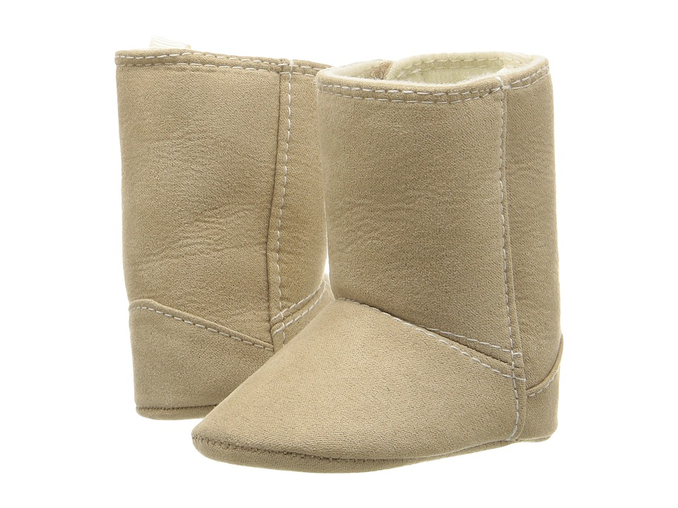 Baby Deer - Suede Boot (Infant) (Tan) Kids Shoes