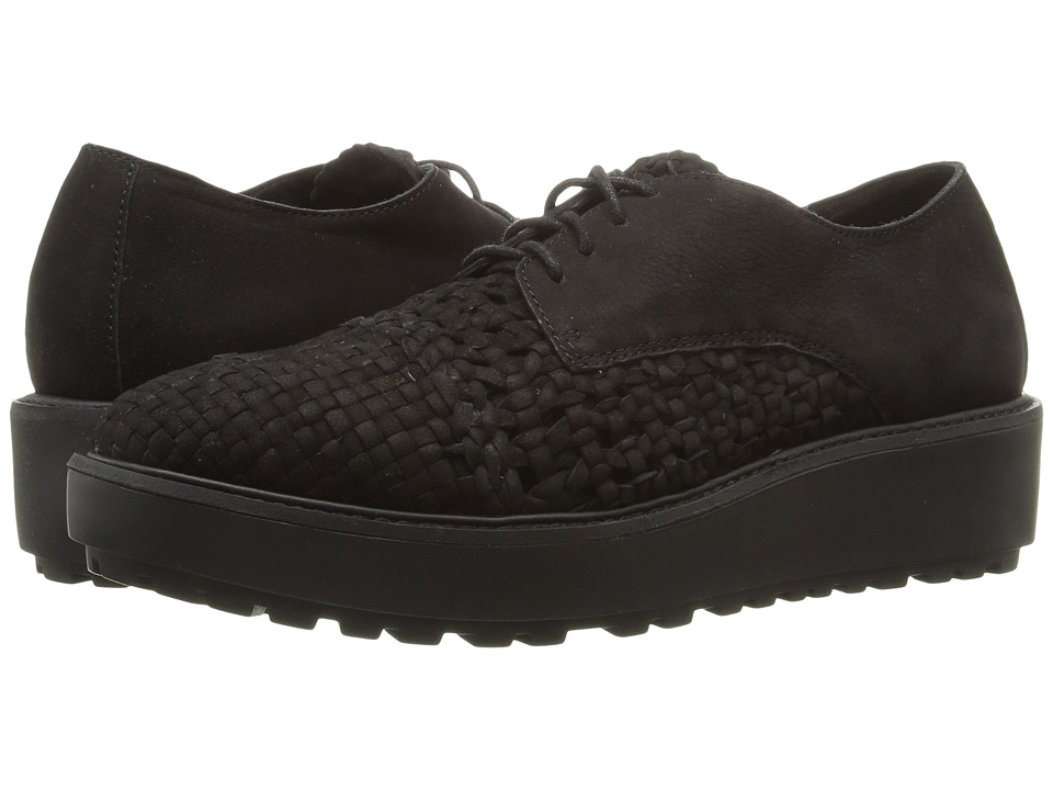 Eileen Fisher Oath (Black Nubuck) Women