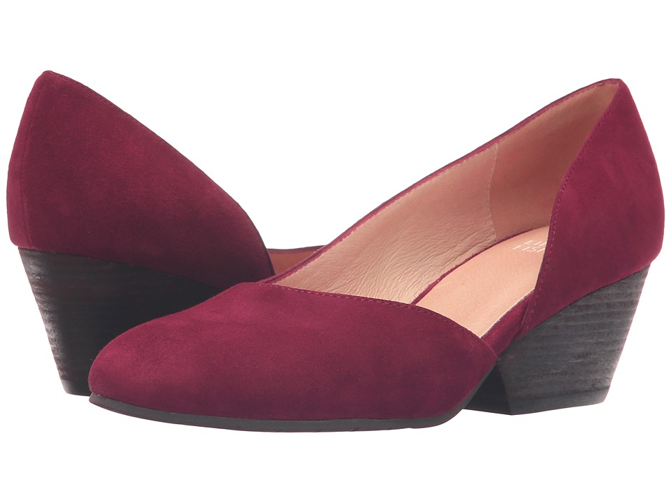 Eileen Fisher - Lily (Cranberry Suede) Women's 1-2 inch heel Shoes