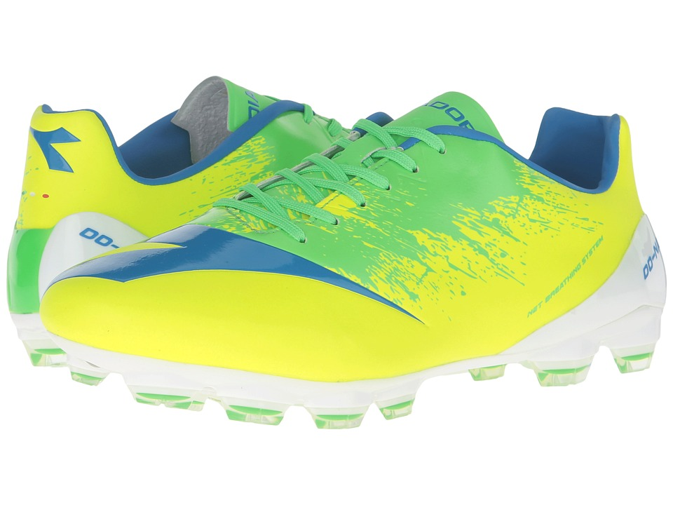 Diadora DD-NA4 GLX 14 (Yellow Fluo/Green) Men