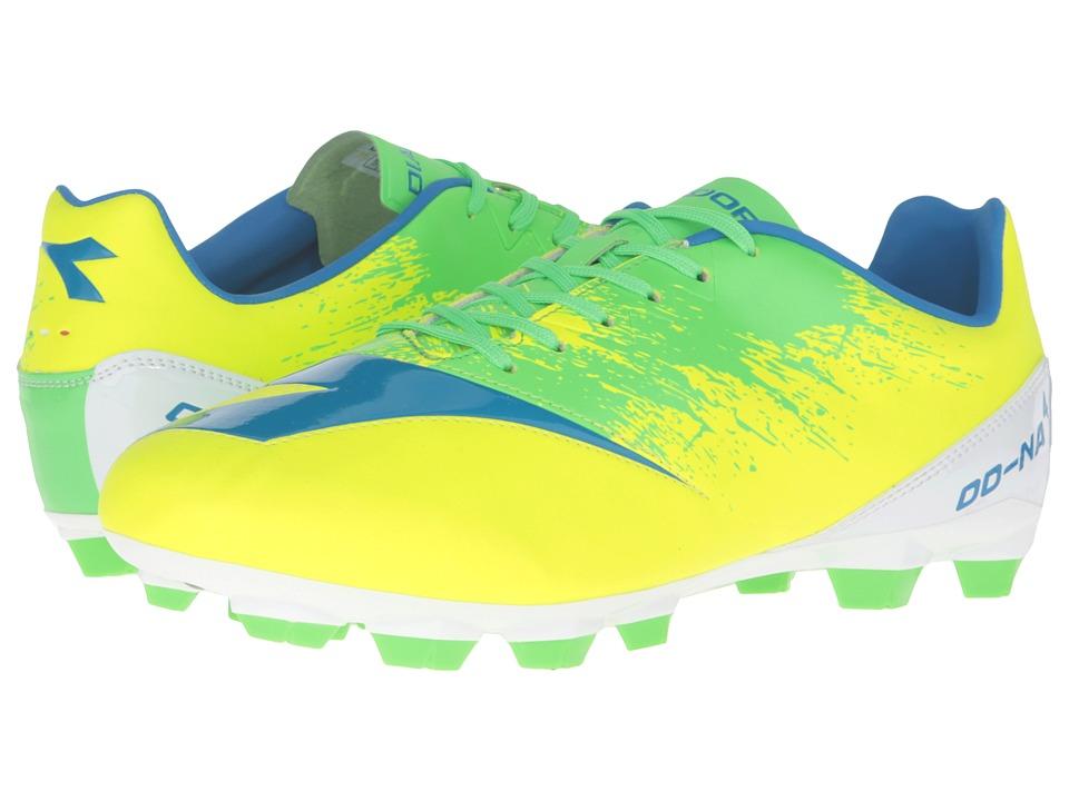 Diadora DD-NA4 R LPU (Yellow Fluo/Green) Men