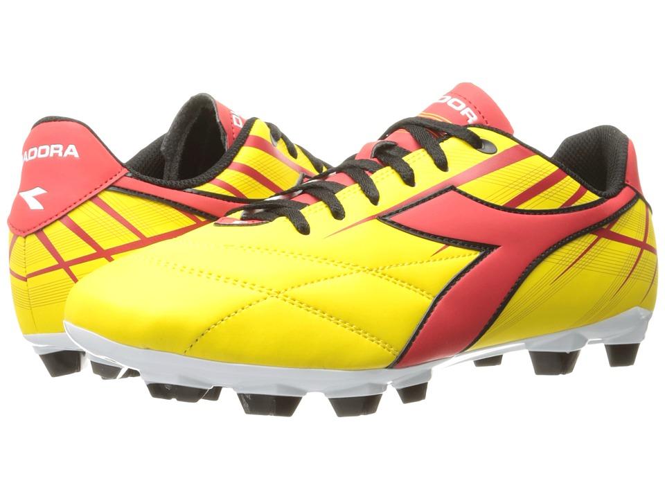 Diadora Forte MD LPU (Yellow/Red) Men