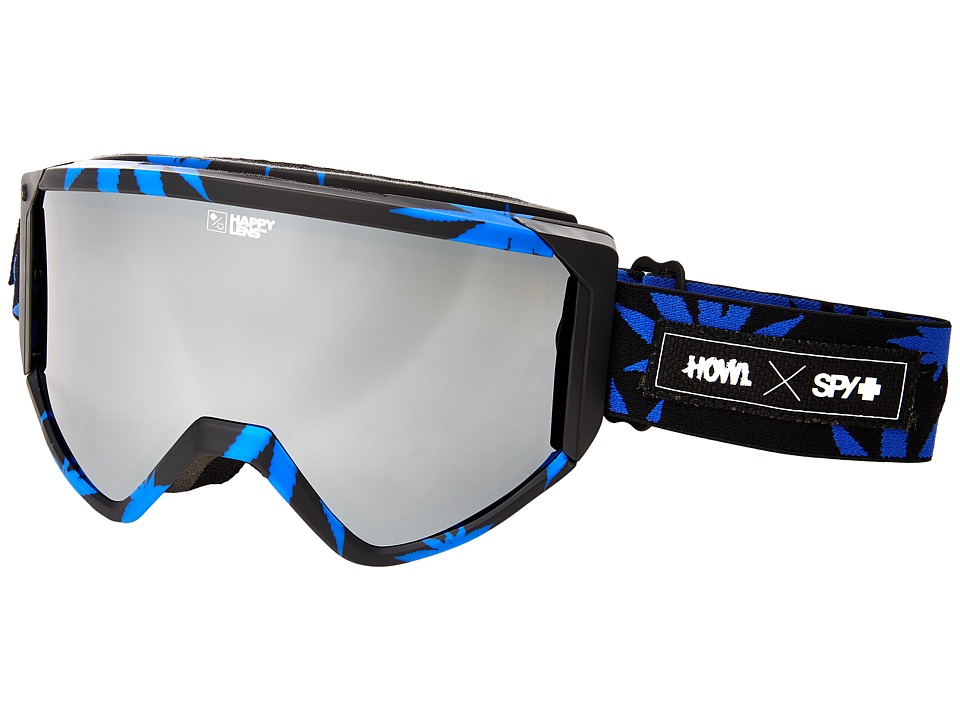 Spy Optic - Raider (Spy/Howl/Happy Silver Mirror/Yellow) Snow Goggles