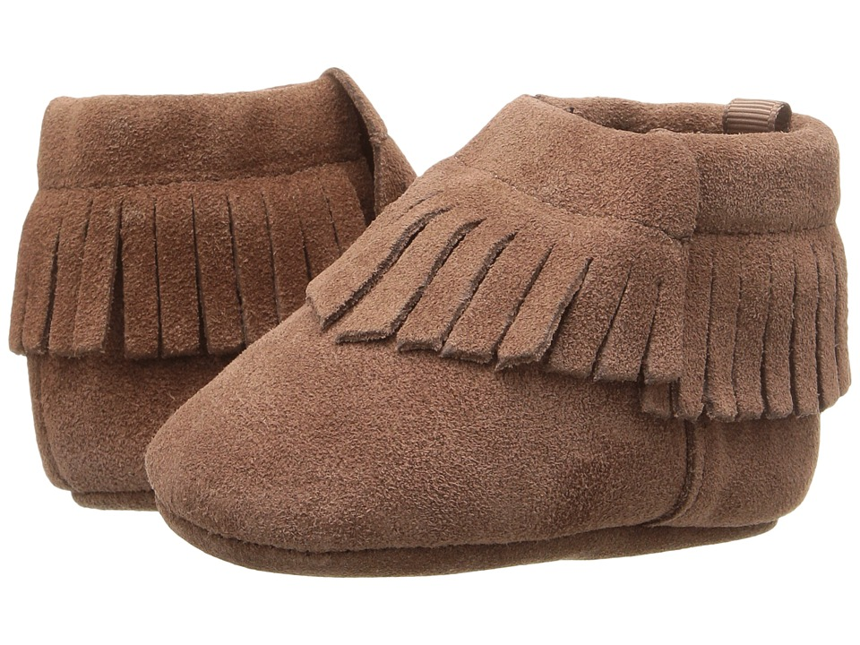 Baby Deer - Suede Moccasin (Infant) (Brown) Kids Shoes