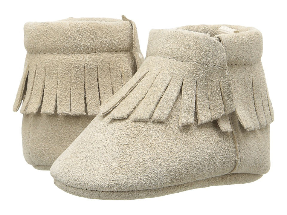 Baby Deer - Suede Moccasin (Infant) (Tan) Kids Shoes