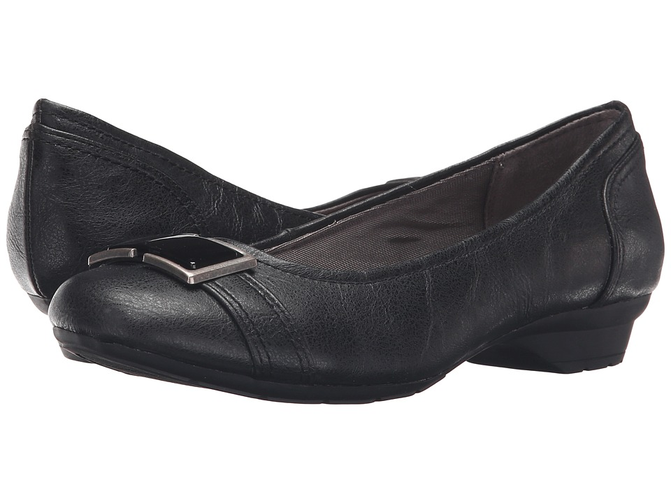 LifeStride - Uno (Black) Women's Shoes