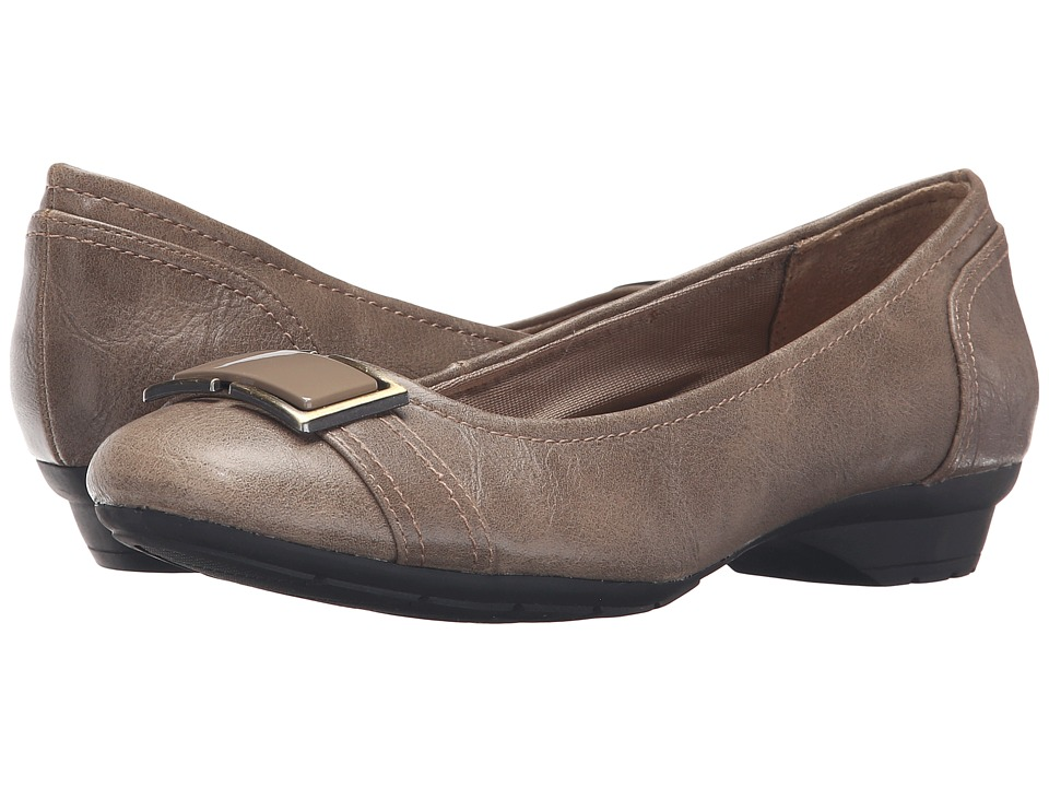LifeStride - Uno (Taupe) Women's Shoes