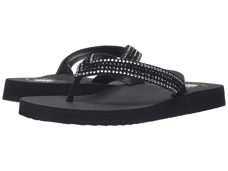 Yellow Box - Baxley (Black) Women's Dress Sandals