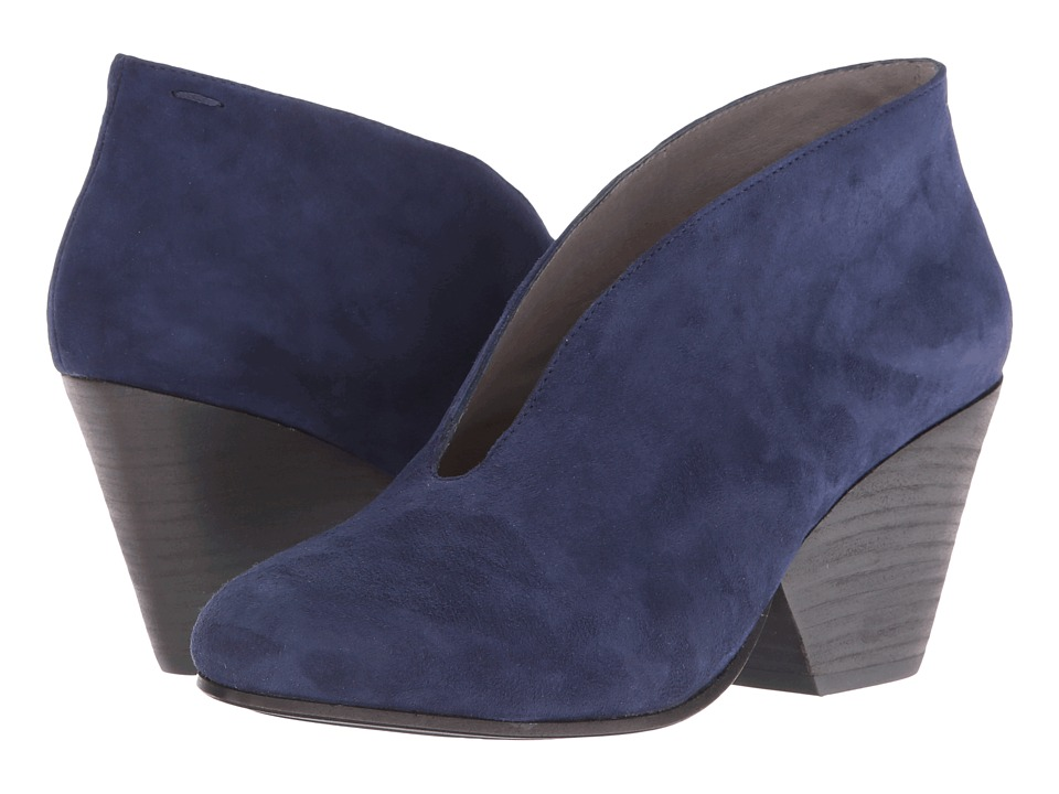 Eileen Fisher - Iman (Dark Night Suede) Women's Slip on Shoes