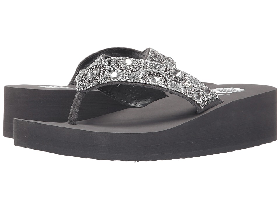 Yellow Box - Power (Gray) Women's Sandals