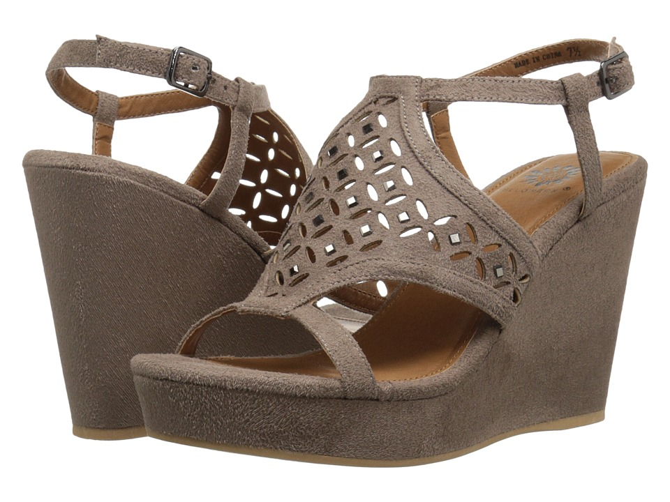 Yellow Box - Splendor (Taupe) Women's Dress Sandals