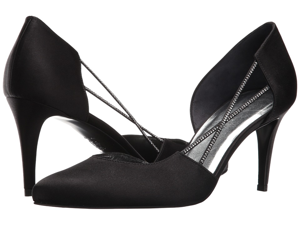 Stuart Weitzman - Stringlights (Slate Satin) High Heels