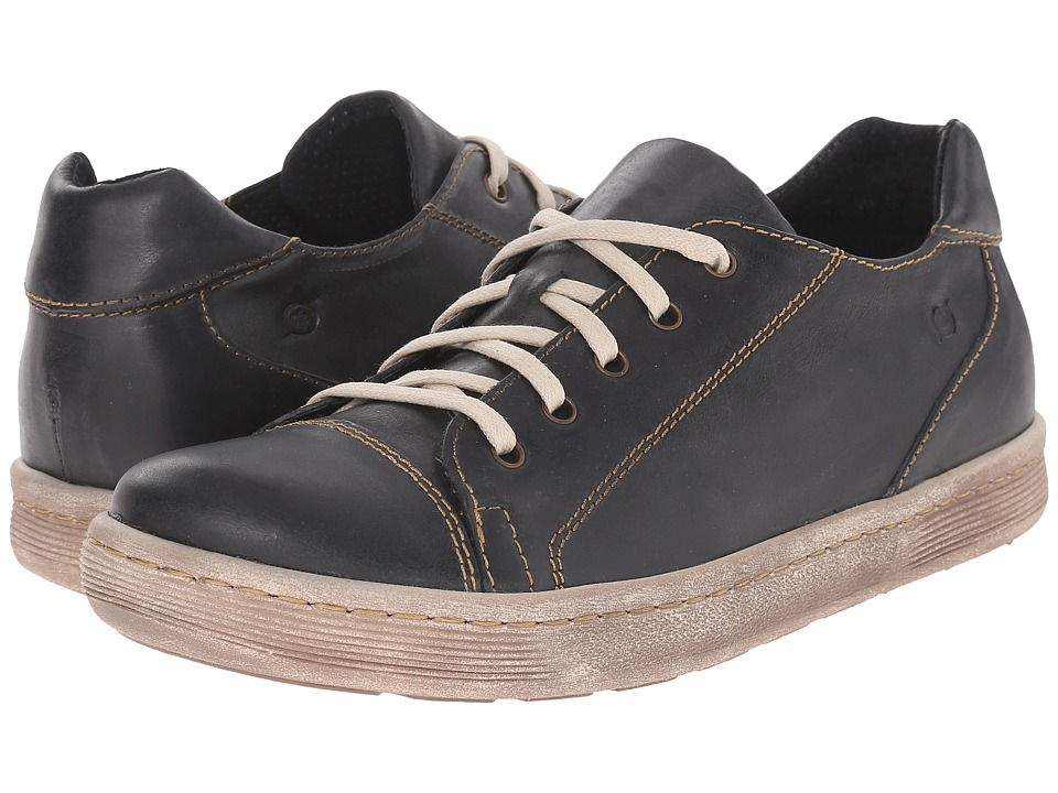 Born - Sanchez (Black Full Grain Leather) Men's Lace up casual Shoes