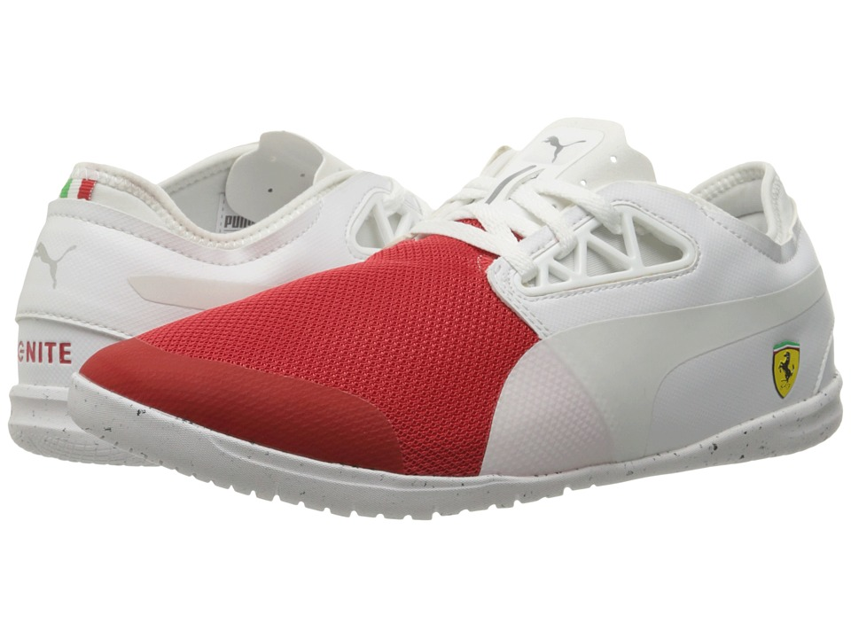 PUMA - Changer Ignite SF Cats Eye (Rosso Corsa/Puma White) Men's Shoes