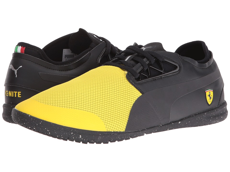 PUMA - Changer Ignite SF Cats Eye (Vibrant Yellow/Puma Black) Men's Shoes