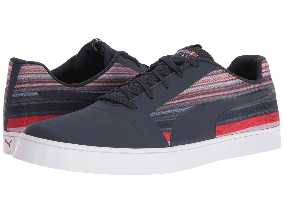 PUMA - RBR Wings Vulc Speed (Total Eclipse/Total Eclipse/Spectra Yellow) Men's Shoes