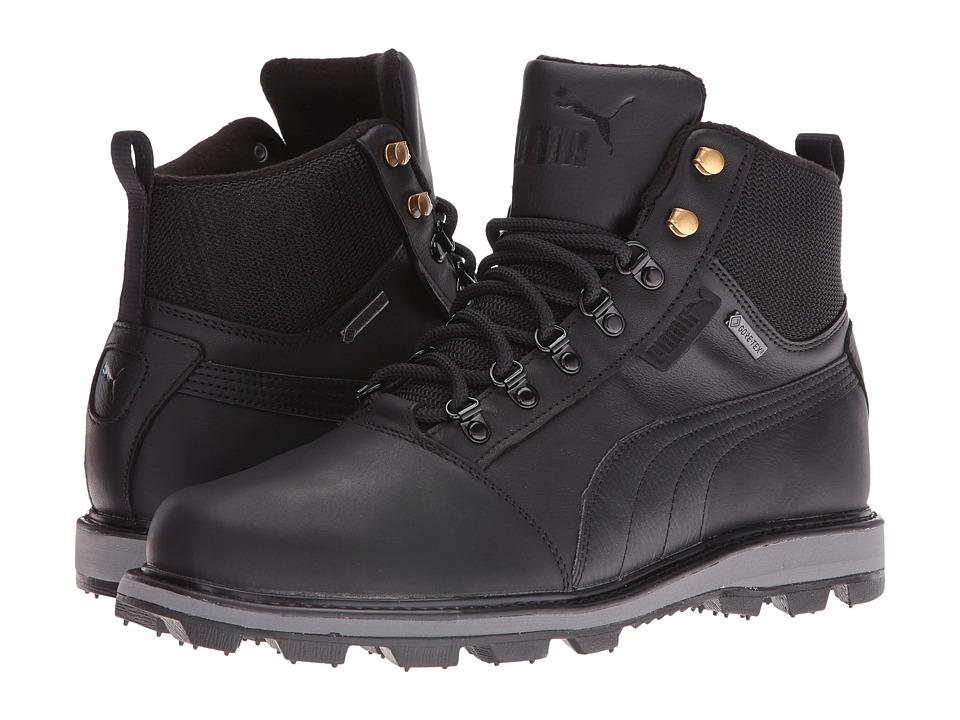 PUMA - Tatau Fur Boot GTX (Puma Black/Puma Black) Men's Boots