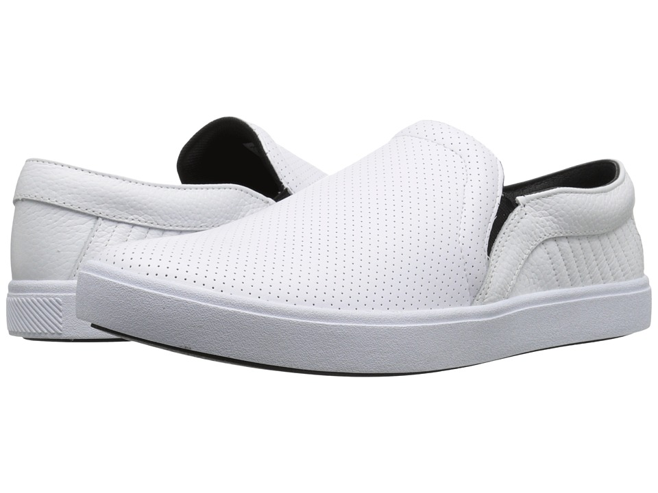 Creative Recreation - Capo (White/White Perf) Men's Slip on Shoes