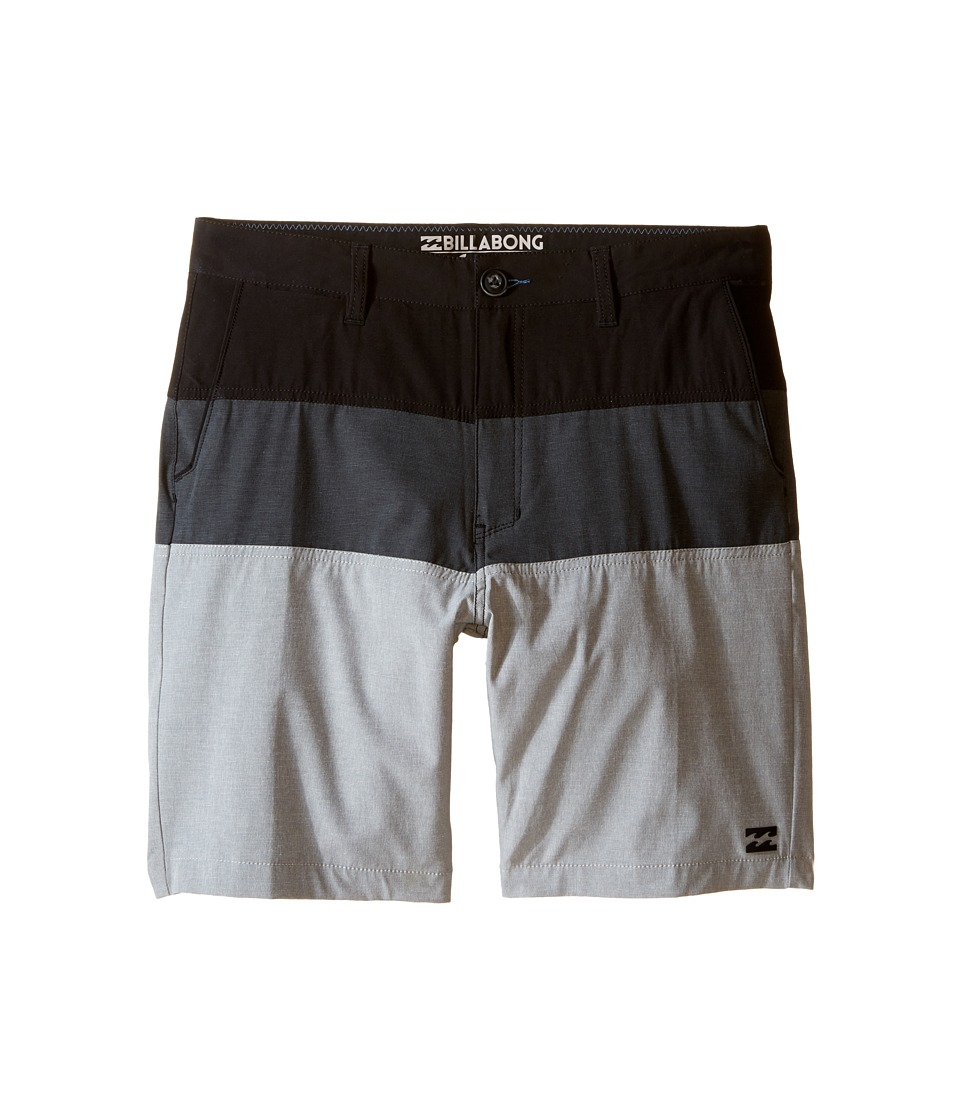 Billabong Kids - Crossfire X Tribong Boardshorts (Big Kids) (Grey) Boy's Swimwear