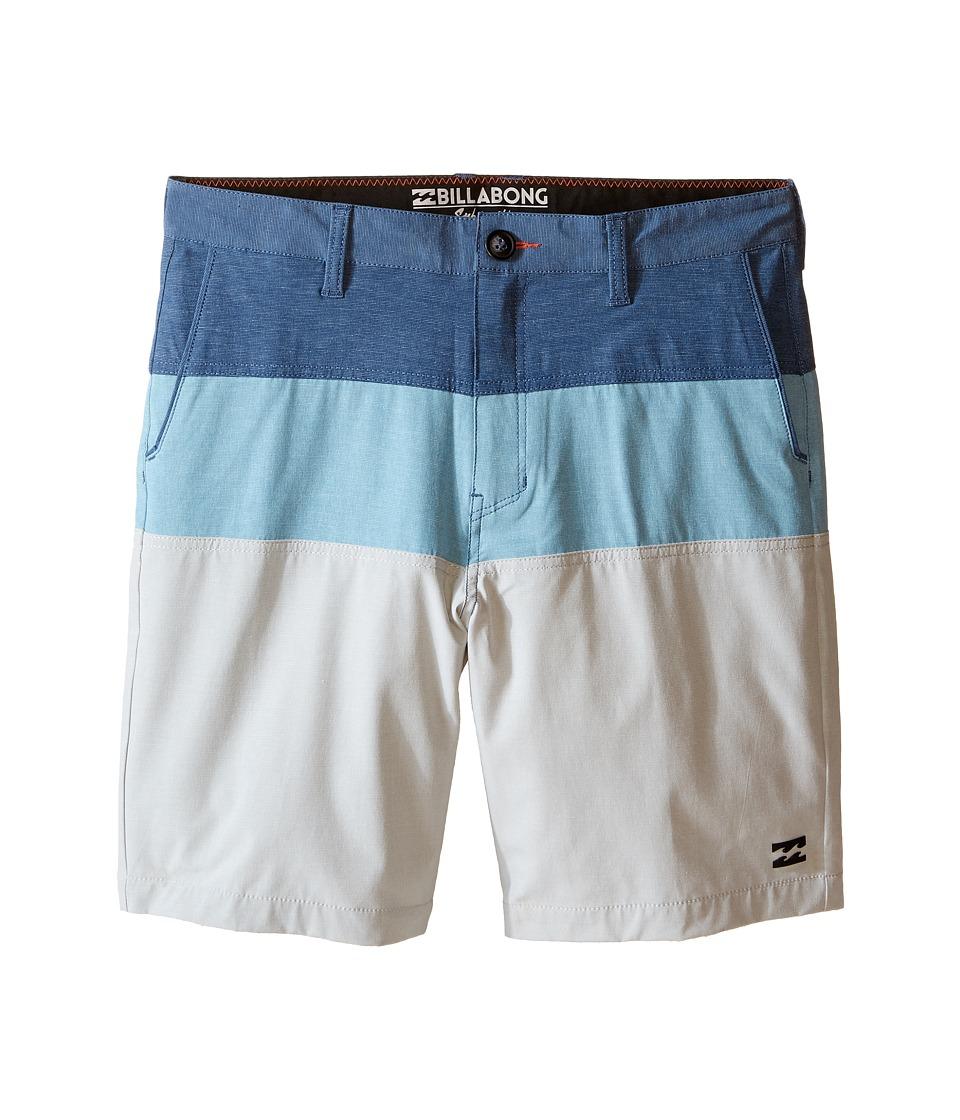 Billabong Kids Crossfire X Tribong Boardshorts (Big Kids) (Water) Boy