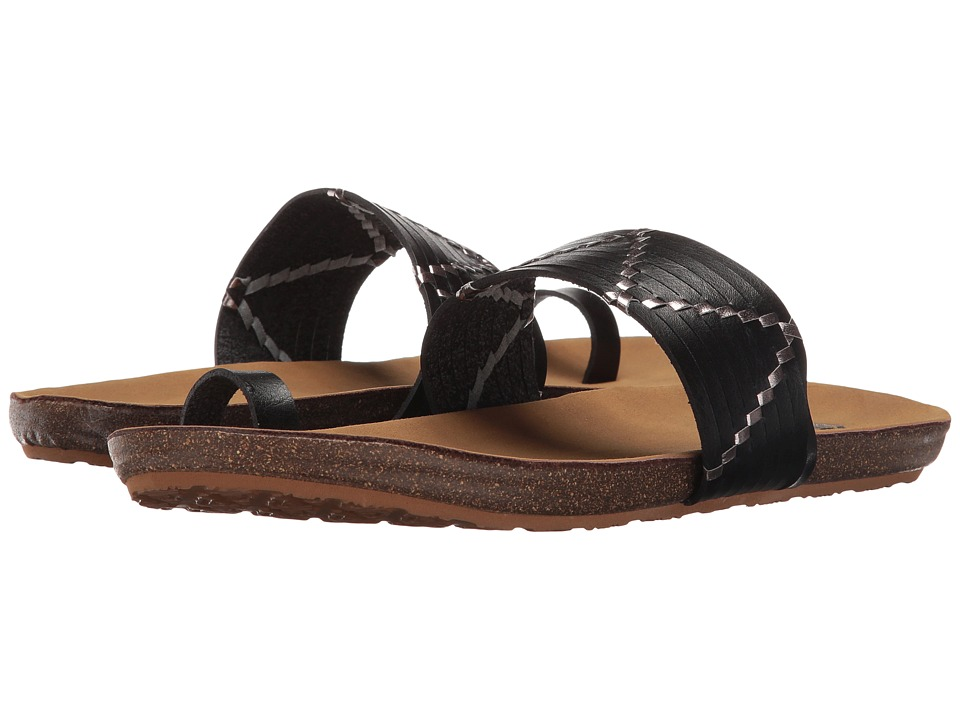 Roxy - Belen (Black) Women's Sandals