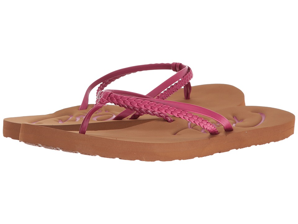 Roxy - Cabo (Berry) Women's Sandals