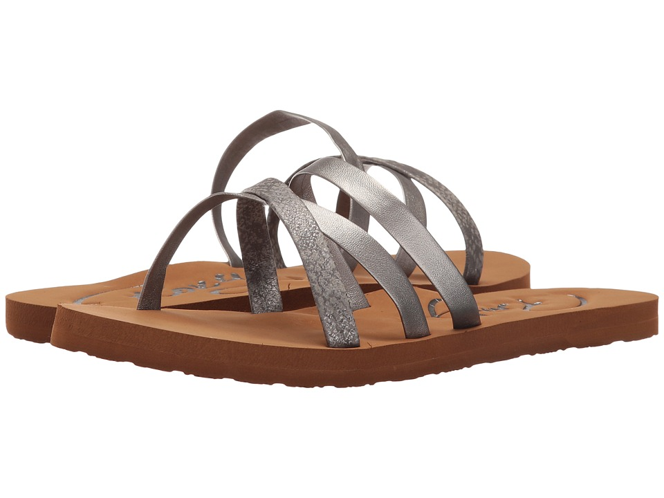 Roxy - Benito (Pewter) Women's Sandals