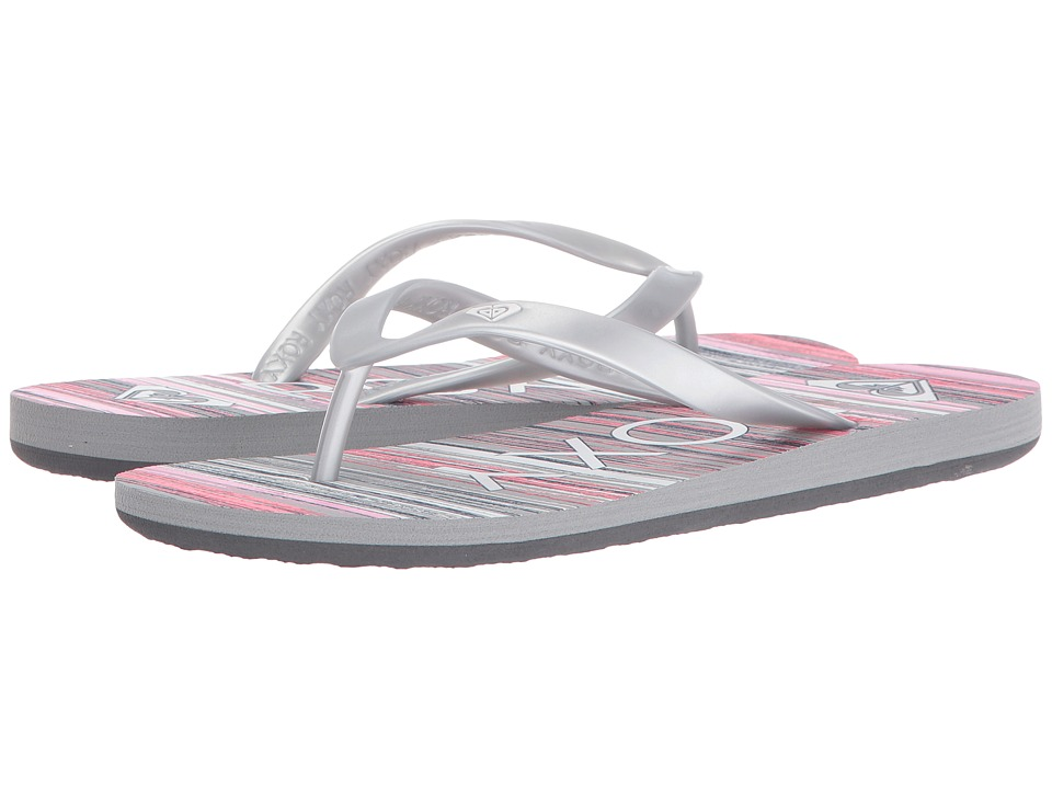 Roxy - Tahiti V (Pink/Metallic Silver) Women's Shoes