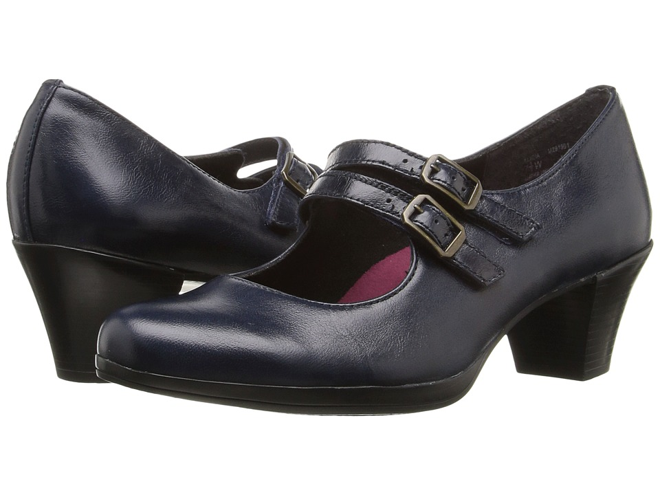Munro - Alicia (Navy Kid Skin) Women's Shoes