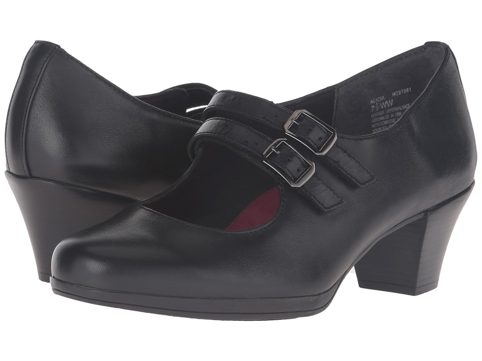Munro - Alicia (Black Kid Skin) Women's Shoes