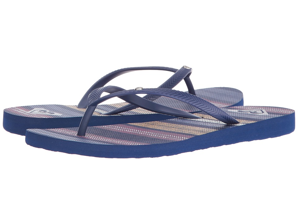Roxy - Bermuda (Dark Blue) Women's Sandals
