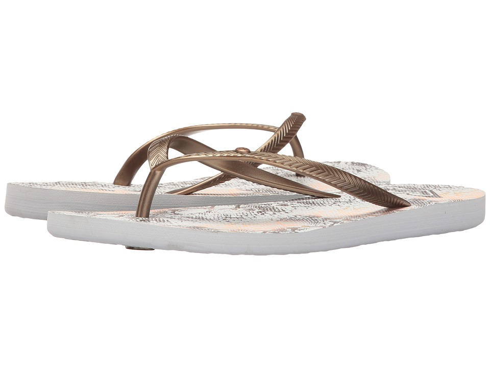 Roxy - Bermuda (Wheat/White) Women's Sandals